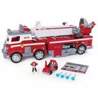 Spin Master - Masina de pompieri Fantastica , Paw Patrol , A pompierului Marshall, Rosu