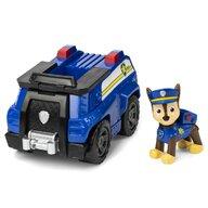 Spin Master - Figurina Chase , Paw Patrol , Cu vehicul