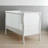 Woodies Safe Dreams - Patut din lemn Noble, 120x60 cm, Alb