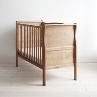 Woodies Safe Dreams - Patut din lemn Noble Vintage, 120x60 cm