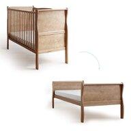 Woodies Safe Dreams - Patut transformabil Noble Vintage Pentru bebe si junior, 140x70 cm