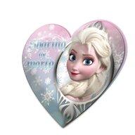 Perna copii Frozen 40 x 40 cm velur