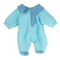 Miniland - Pijama salopeta bleu pentru papusi  38-42 cm
