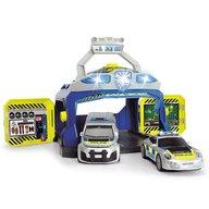 Dickie Toys - Pista de masini Command Unit cu 2 masini