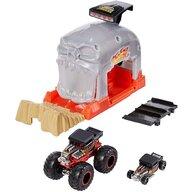 Hot Wheels - Pista de masini Bone Shaker Cu 2 masinute by Mattel Monster Truck