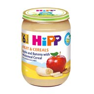 HiPP - Piure Hipp Fruct & Cereale cu mere si banana 190 gr
