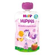 HiPP - Piure  Hippis prune Mirabelle, mar, piersica 100 g