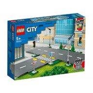 LEGO - Set de constructie Placi de sosea ® City, pcs  112