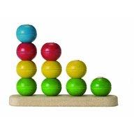 Plan Toys - Joc educativ de stivuit si numarat