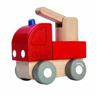Plan Toys - Mini camion de pompieri