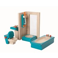 Plan Toys - Mobilier pentru casuta papusii - bathroom