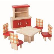 Plan Toys - Mobilier pentru casuta papusii - dining room