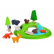 Plan Toys - Set Animale din padure