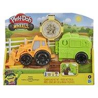 Hasbro - Set Wheels tractorul , Play-Doh