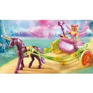 Playmobil - Trasura cu unicorn si zane