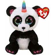 TY - Jucarie din plus Paris ursultul panda unicorn , Boos , 15 cm