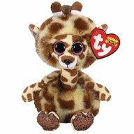 TY - Jucarie din plus Girafa cu gatul lung , 15 cm