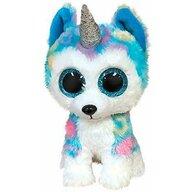 TY - Jucarie din plus Husky Unicorn , Boos , 24 cm