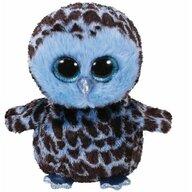 TY - Jucarie din plus Bufnita Yago , Boos , 24 cm, Albastru