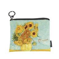 Fridolin - Portmoneu textil Van Gogh Sunflowers