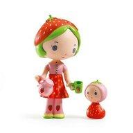 Djeco - Set figurine Printesa Capsunica Berry si Lila
