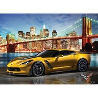 Puzzle 1000 piese 2015 Corvette Z06 Out for a Spin