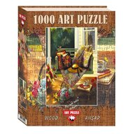 Puzzle 1000 piese, din lemn Summer Shade, SANDY LYNAM CLOUGH