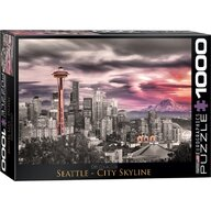 Puzzle 1000 piese Seattle City Skyline
