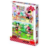 Dino - Toys - Puzzle 2 in 1 Minnie la treaba 77 piese