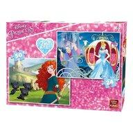 Puzzle 2 in 1 Princess Brave/Cindarrela