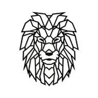 EWA - Puzzle din lemn Lion , Puzzle Copii , Decorativ 3D, piese 250