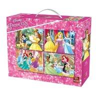 Puzzle 4in1 Princess