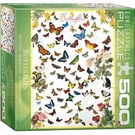 Puzzle 500 piese Butterflies