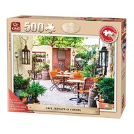 Puzzle 500 piese Terrace In Europe