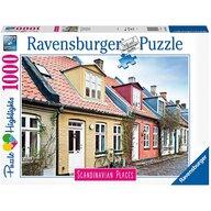 Ravensburger - Puzzle orase Aarhus Danemarca , Puzzle Copii, piese 1000