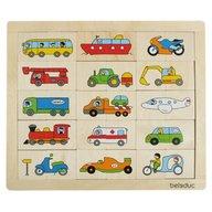 Beleduc - Puzzle Amesteca si potriveste Transport