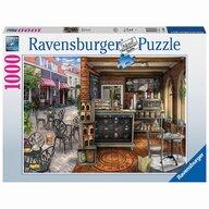 Ravensburger - Puzzle peisaje Cafenea pitoreasca Puzzle Adulti, piese 1000