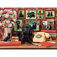 Ravensburger - Puzzle animale Catel loial Puzzle Copii, piese 500