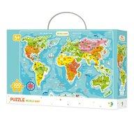 Dodo - Puzzle - Continentele lumii (100 piese)