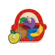 Hape - Puzzle Cosul cu fructe