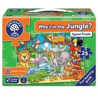 Orchard Toys - Puzzle cu activitati Cine este in jungla? - Who's in the jungle?