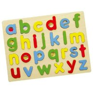 Viga - Puzzle din lemn Litere mici , Puzzle Copii, piese 26