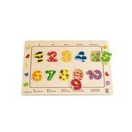 Hape - Puzzle cu numere ingropate