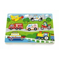 Viga - Puzzle sonor Mijloace de Transport , Puzzle Copii, piese 7