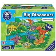 Orchard Toys - Puzzle de podea Dinozauri, 50 piese