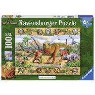 Ravensburger - Puzzle Dinozauri, 100 piese