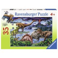 Ravensburger - Puzzle Dinozauri, 35 piese