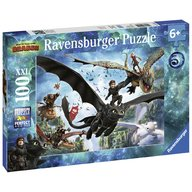 Ravensburger - Puzzle Dragons III, 100 piese