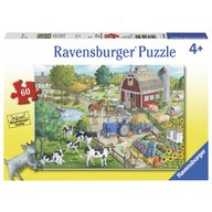 Ravensburger - Puzzle Ferma, 60 piese