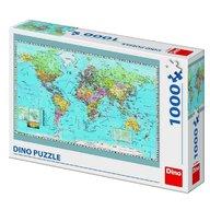 Dino - Toys - Puzzle Harta politica a lumii 1000 piese